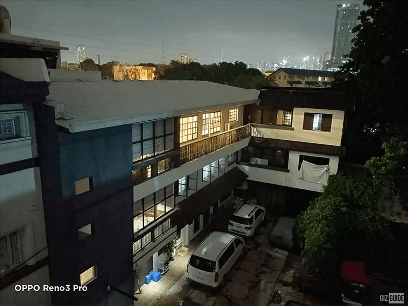 Rear camera 1x night mode