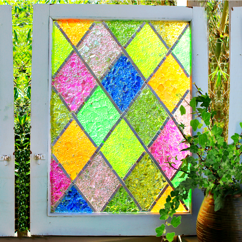 Mark Montano: Harlequin Stained Glass DIY