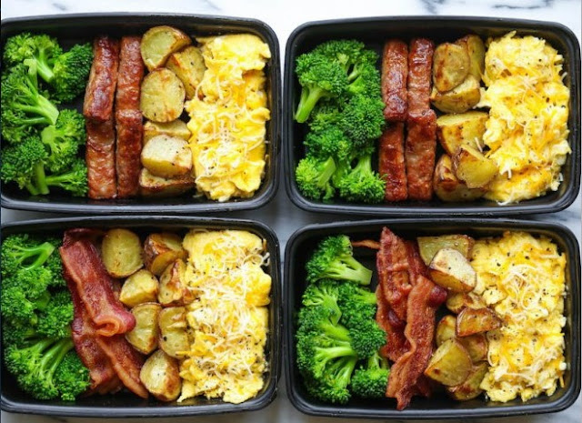 Breakfast Meal Prep #breakfast #lunch