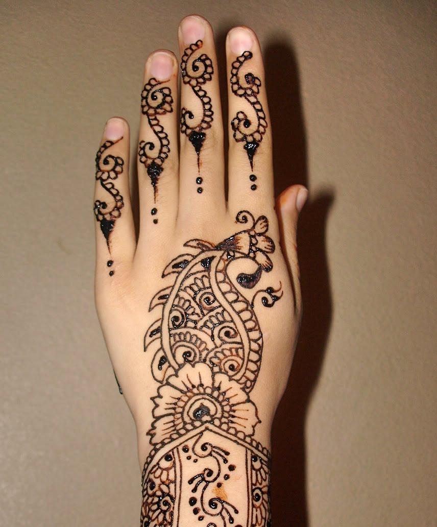 Contoh Henna Simple Makedes Com