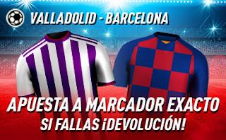 sportium promo Valladolid vs Barcelona 11 julio 2020