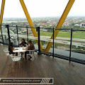 Topaz Sky Lounge and Bar, Sambil Ngopi Menikmati View Kota Mojokerto