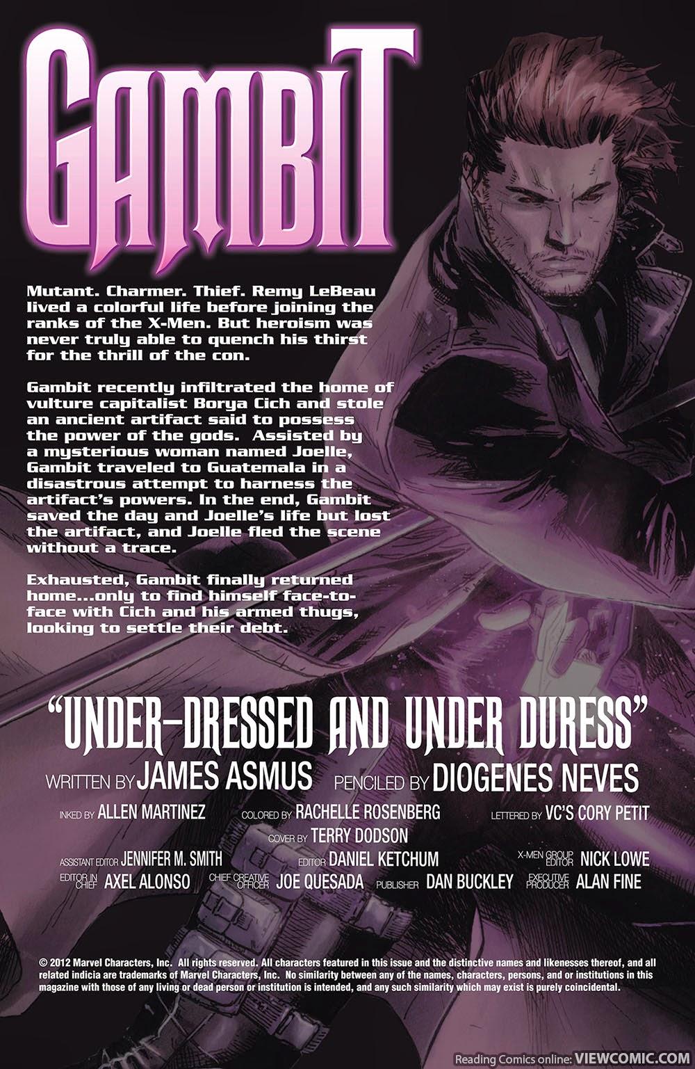 Gambit v5 005 (2013) ………………………………… | Viewcomic reading