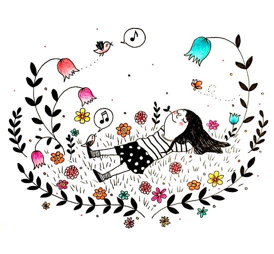 Paroladordine primavera I ghirigori di Monila vignette