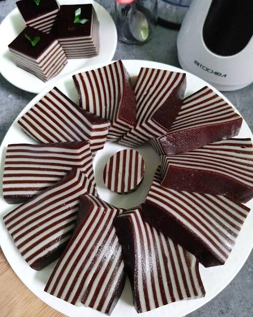 Resep Praktis Membuat Lapis Kanji Coklat
