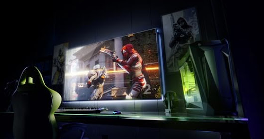 Nvidia unveils 65-inch big format displays for gaming