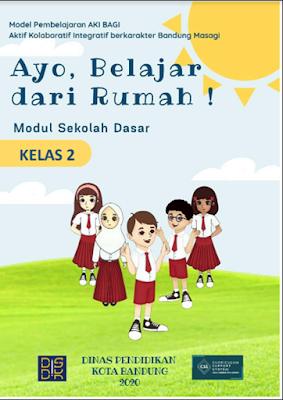 Modul Belajar Dari Rumah (BDR) Tema 1 SD/MI Kelas 1 2 3 4 5 6