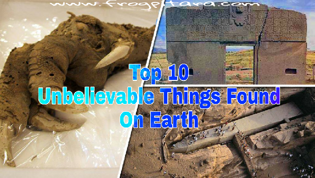 Top 10 Unbelievable Things Found On Earth In Hindi