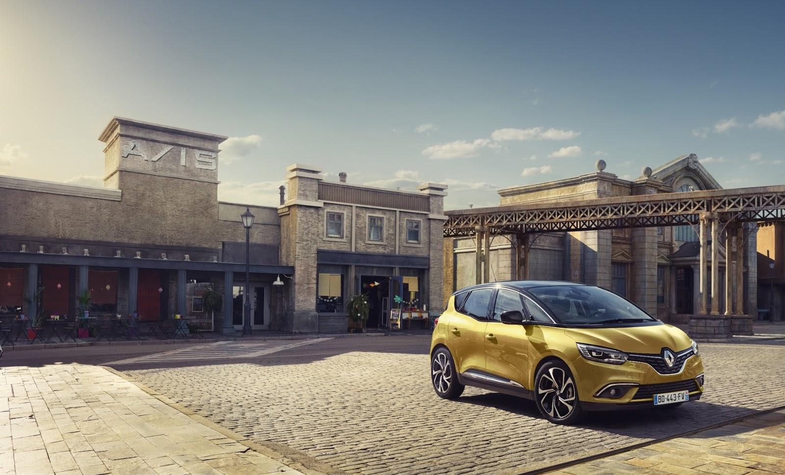 00097510 l Η Renault αποκαλύπτει το νέο Renault Scenic και Renault Megane Estate 86η Έκθεση Γενεύης, autoshow, MPV, Renault, Renault Megane Estate, Renault Scenic, Station Wagon