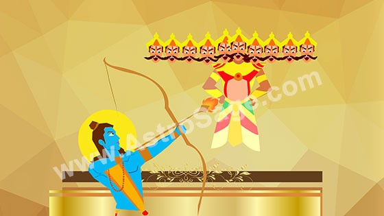 Happy Dussehra Images GIF