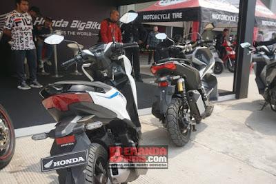 Komparasi Ukuran Honda ADV 150 dengan Honda Vario 125 2019