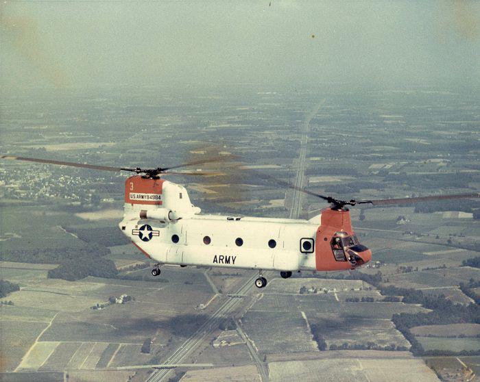 Третій прототип YCH-1B