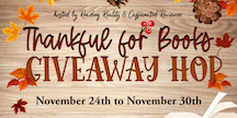 Thanksgiving: Thankful For Books Giveaway Hop