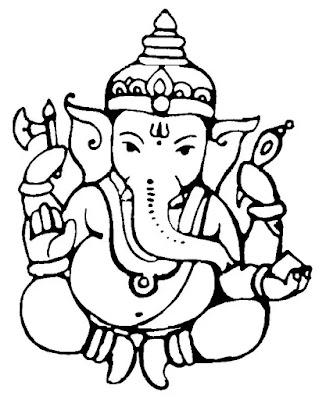 Ganesh Chalisa Lyrics in English | Hindi