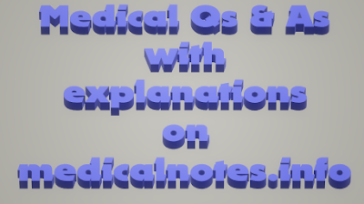 MCQ questions & answers on medicalnotes.info