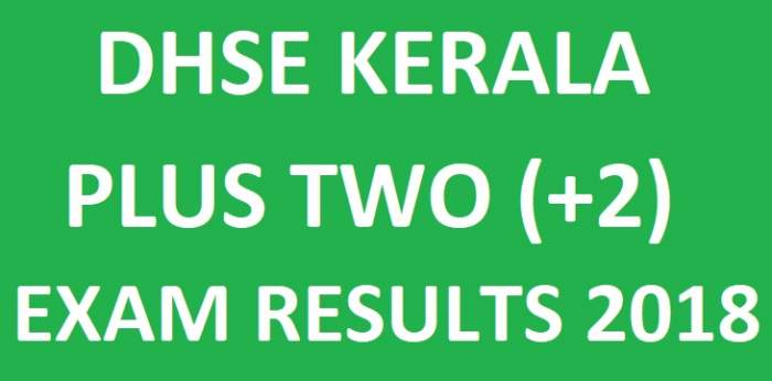 Kerala Plus Two SAY Improvement Result