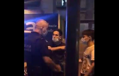 Sentencia de risa. 4 meses de cárcel y 60€ para el joven que agredió a un policía local de Alfafar.