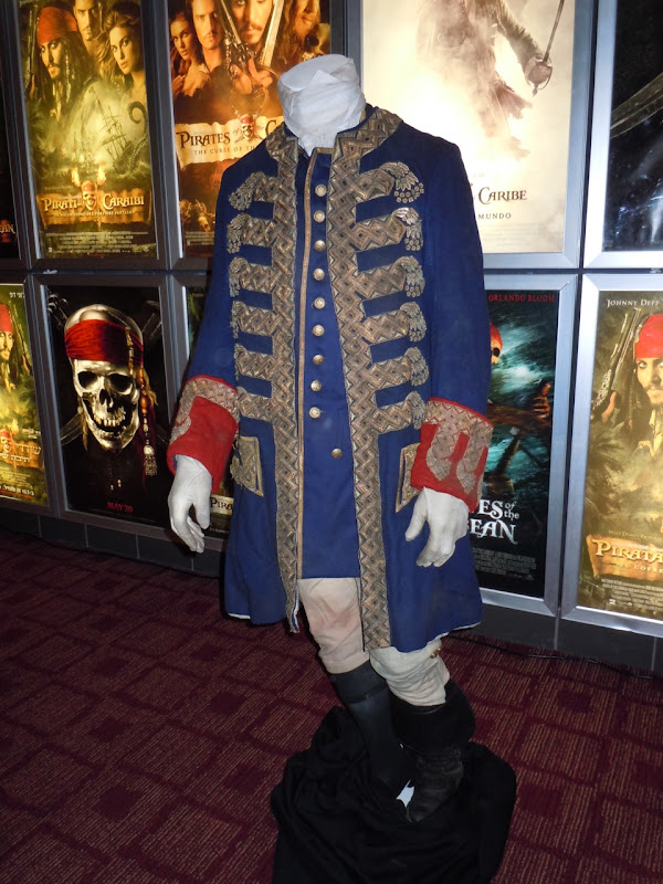 Captain Barbossa On Stranger Tides costume