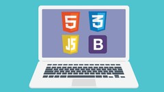 HTML, CSS, JavaScript and BootStrap for Absolute Beginners