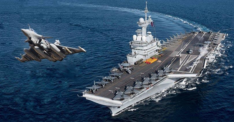 Στη-Μεσόγειο-το-Γαλλικό-Αεροπλανοφόρο-Charles-de-Gaulle
