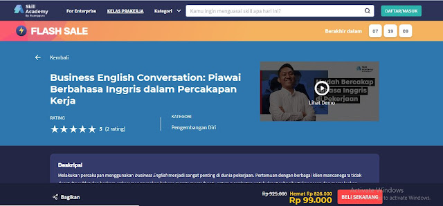 kelas komunikasi online skill academy