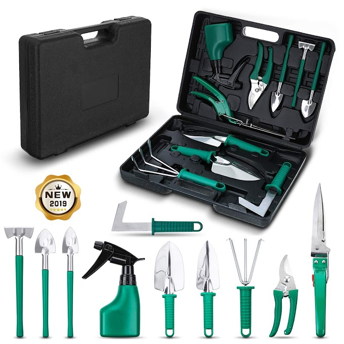 AMAZON - 35%OFF  Garden Tools Set