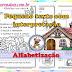 ATIVIDADES DE ALFABETIZAÇÃO - PEQUENO TEXTO COM INTERPRETAÇÃO