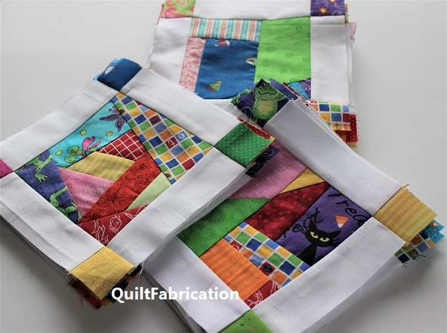 Crumb Jumble quilt blocks