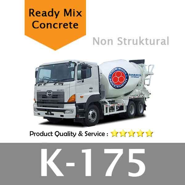 Harga Beton Cor Mutu K 175