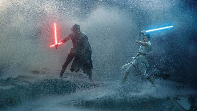 'Star Wars: The rise of Skywalker': Daisy Ridley advances an epic fight between Rey and Kylo Ren
