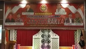 Deklarasi Kerukunan Puak Batak  Bersaudara Dihadiri dan Didukung Penuh Oleh Guburnur Sumatera Utara
