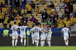 Argentina Juara Copa America 2021, Kalahkan Brasil 1-0 di Final