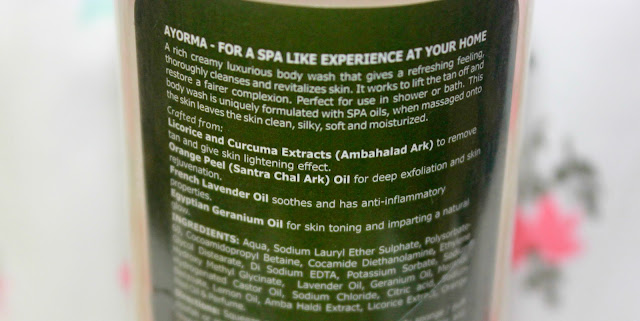 Ayorma Fairness & Anti-Tan Creme Body Wash Review