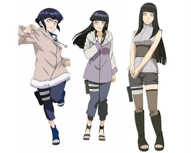 Hinata-Hyuga-evolução-anime-naruto