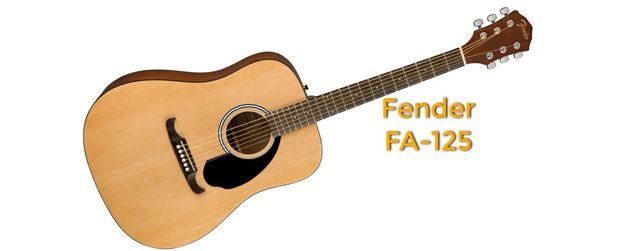 Fender FA-125 Guitarras Acústicas Baratas