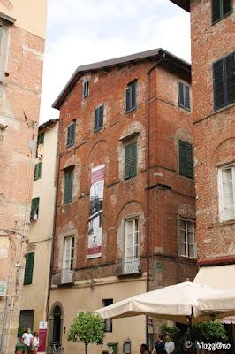 La Casa natale di Giacomo Puccini ora adibita a Museo