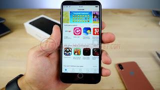 iPhone X HDC Tampilan Appstore