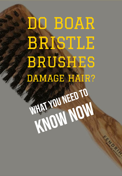 Natural boar brushes