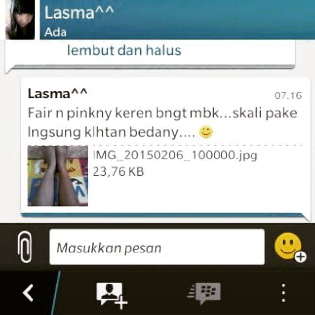Testi Fair n Pink Whitening Body Serum