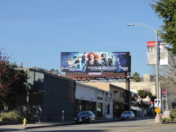 Shadowhunters series billboard