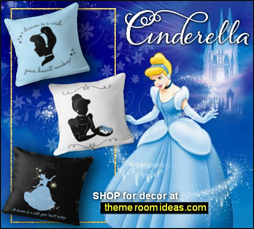 CINDERELLA DECOR princess cinderella bedroom ideas cinderella pillows cinderella bedding