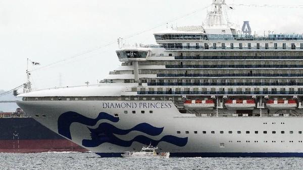 Sudah 61 Orang Positif Corona di Kapal Pesiar yang Dikarantina di Jepang