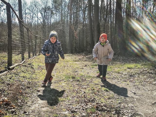 Ganiam dzieci po lesie, czyli nasze sposoby na zdrowie
