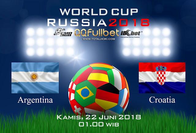 BOLA88 - PREDIKSI BOLA PIALA DUNIA : ARGENTINA VS KROASIA 22 JUNI 2018 ( RUSSIA WORLD CUP 2018 )