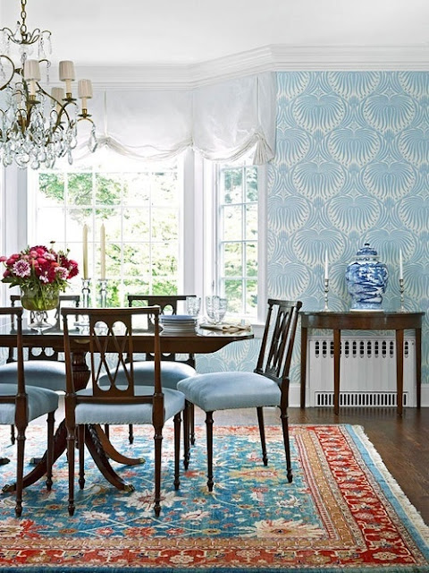 Chinoiserie Chic Charleston Dining Room Southern