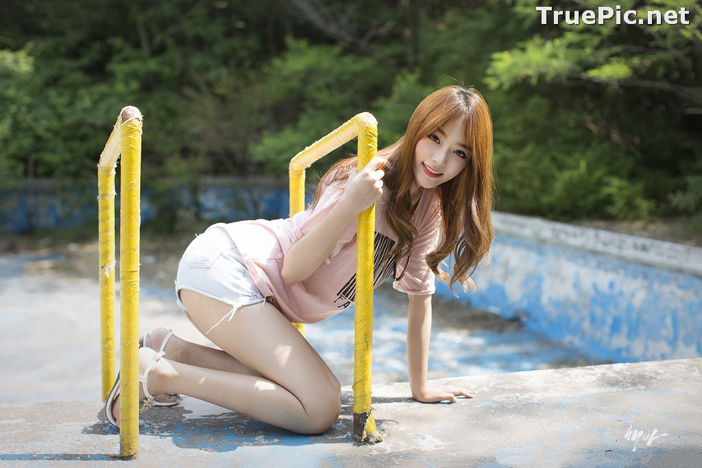 Image Korean Cute Model - Ji Yeon - You Can Follow Me - TruePic.net - Picture-3