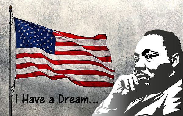 Image: Martin Luther King Day / I have a dream, by Tumisu on Pixabay