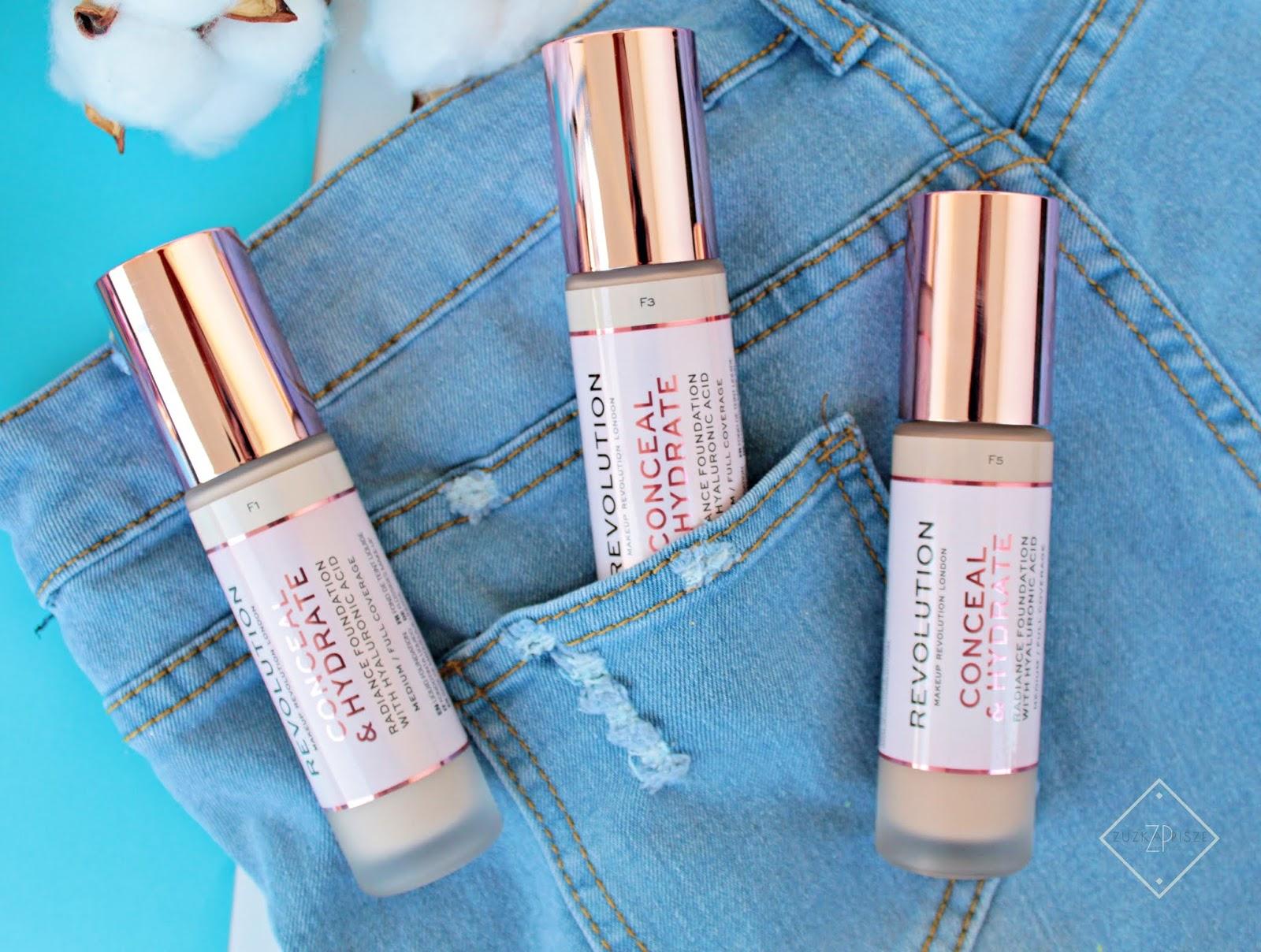 Podkład Makeup Revolution CONCEAL & HYDRATE