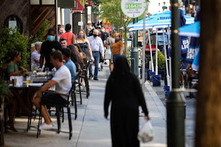Philly is stepping up enforcement of coronavirus rules for outdoor dining