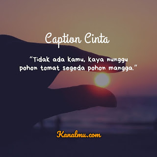 Caption Cinta Singkat